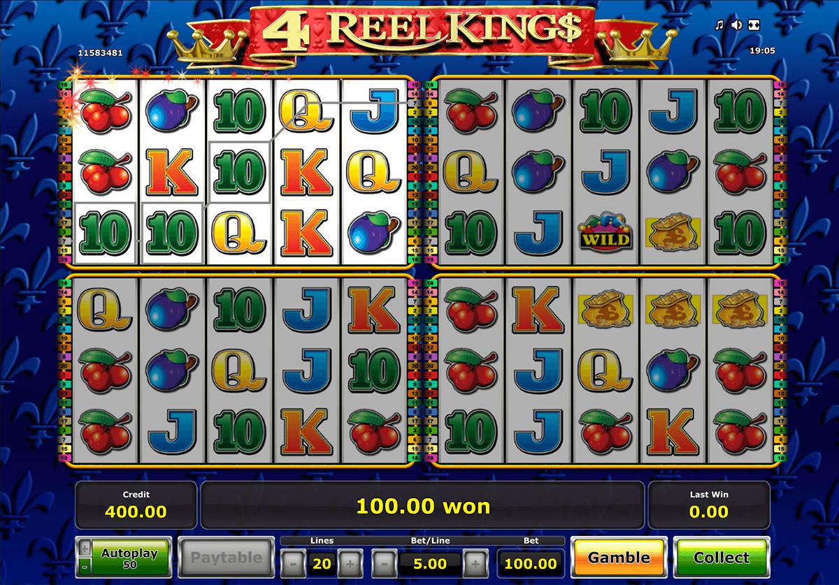 reel kings novomatic kolikkopeli