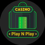 Pay n Play kasinot