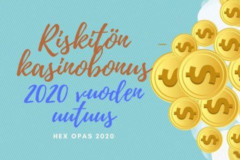 Riskitön kasinobonus logo