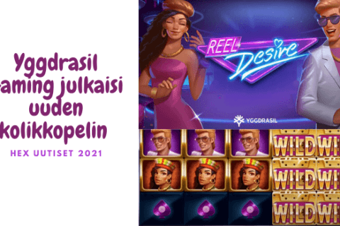Yggdrasil Gaming julkaisi uuden kolikkopelin