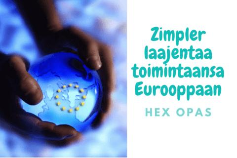 Zimpler laajentaa toimintaansa Eurooppaan e