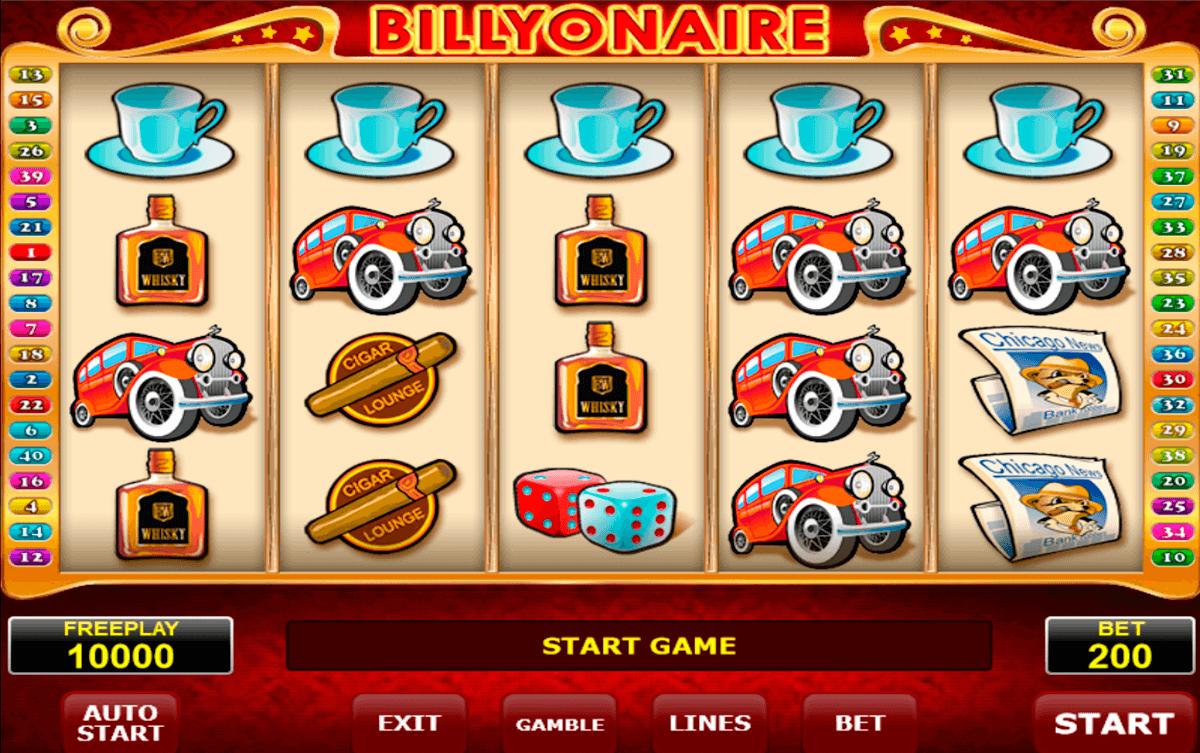billyonair amatic kolikkopeli