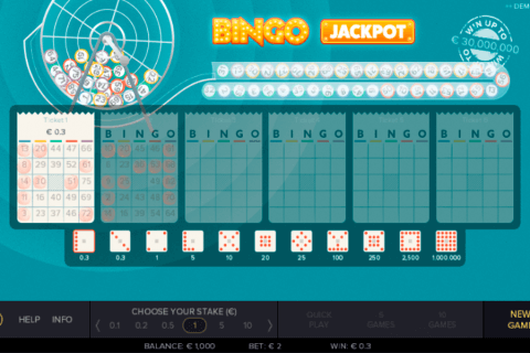 bingo jackpot gluck games