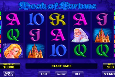 book of fortune amatic kolikkopeli