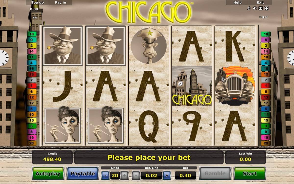chicago novomatic kolikkopeli