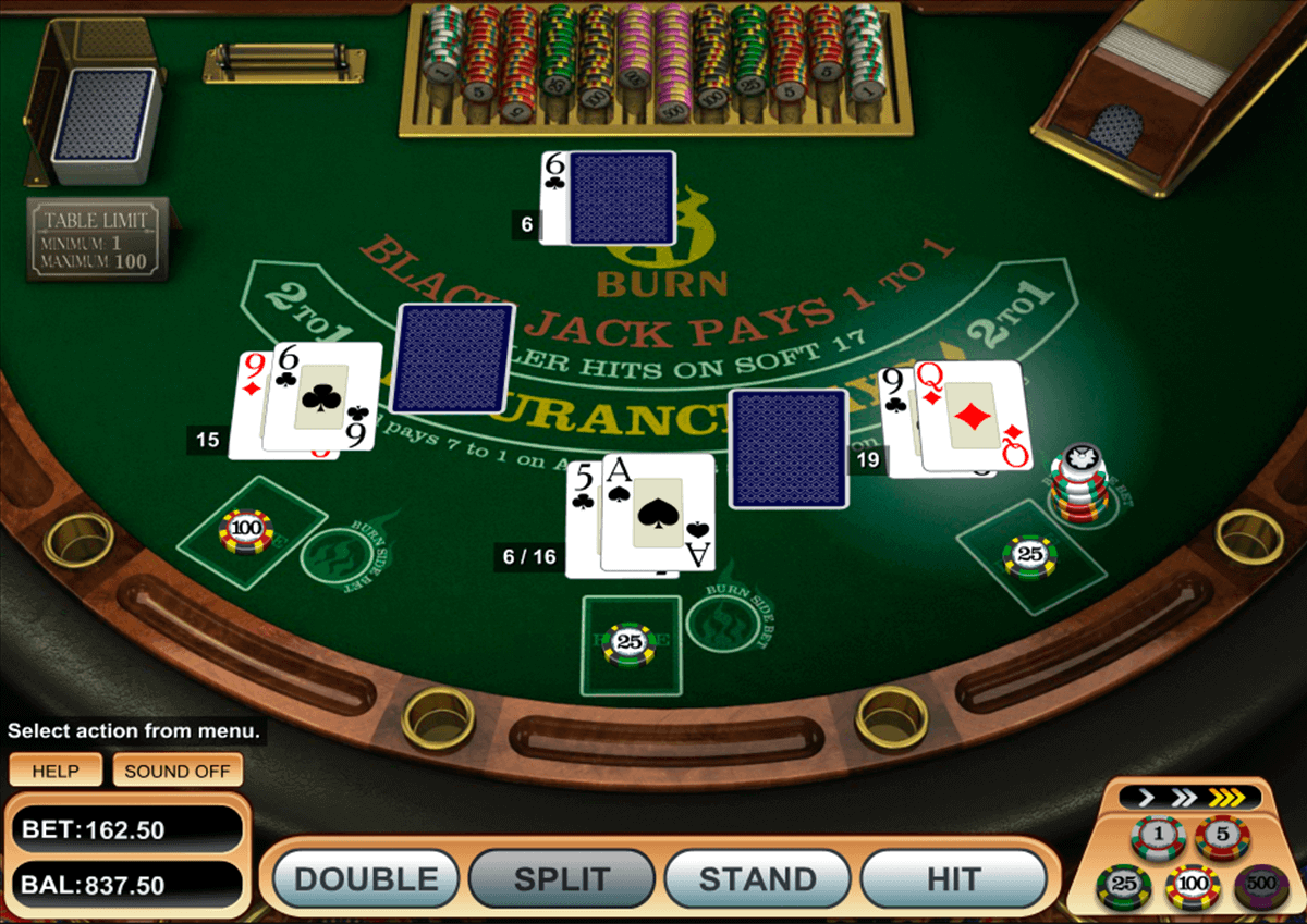 21 burn blackjack betsoft blackjack