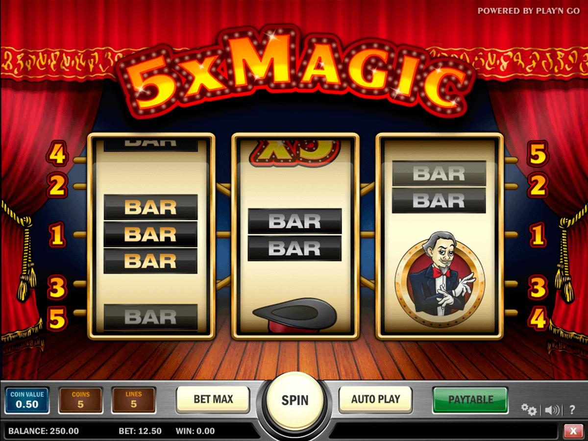 magic playn go kolikkopelit