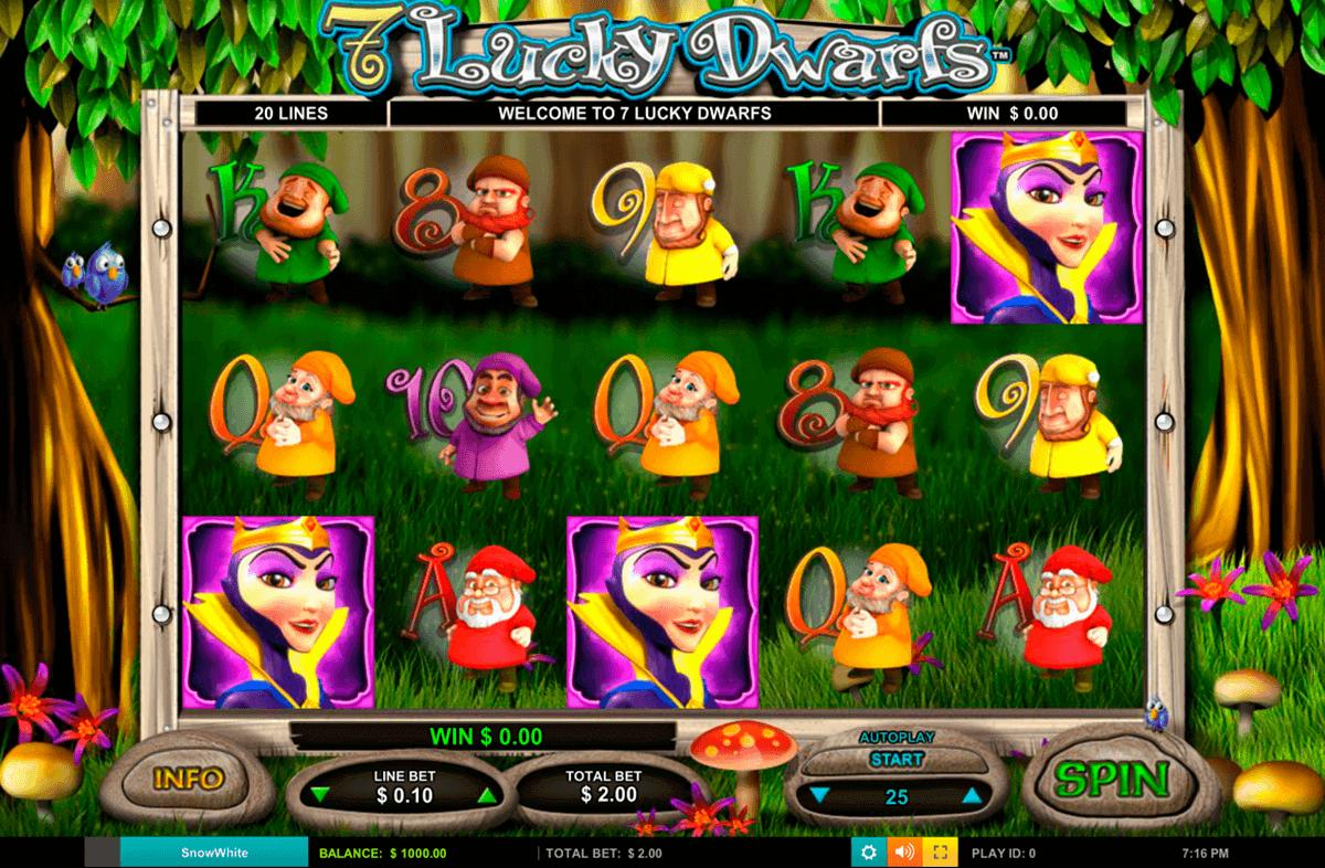 lucky dwarfs leander kolikkopelit