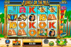 a while on the nile netgen gaming kolikkopelit