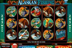 alaskan fishing microgaming kolikkopelit