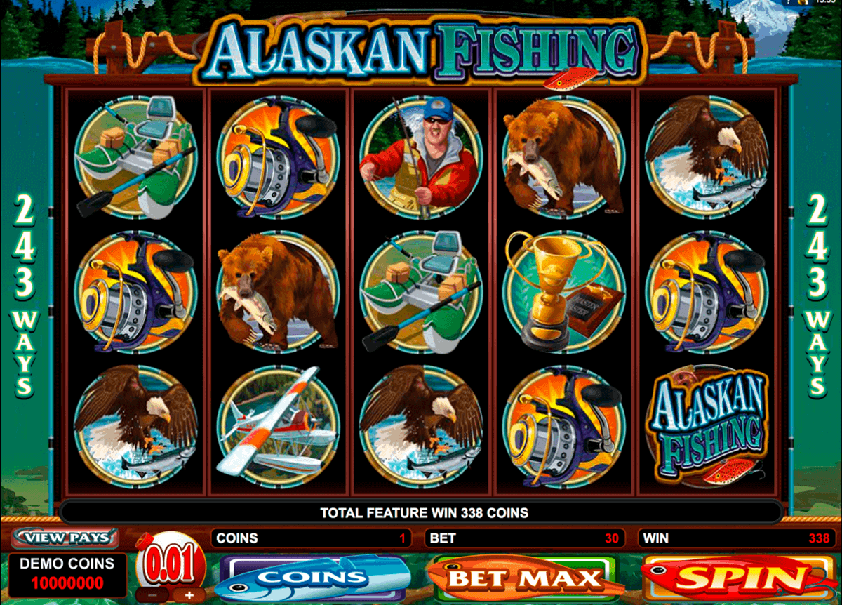 alaskan fishing microgaming kolikkopelit