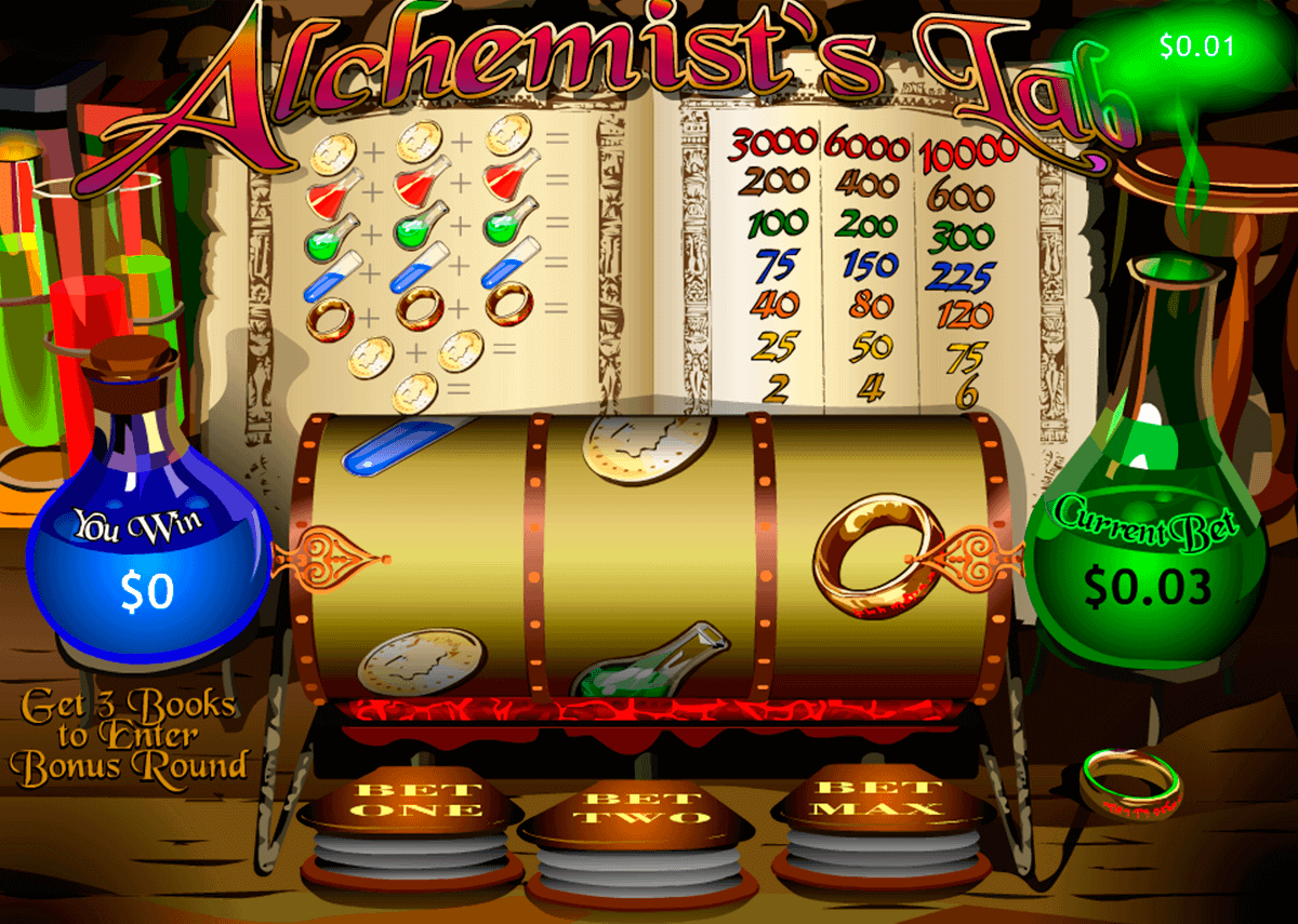 alchemists lab playtech kolikkopelit