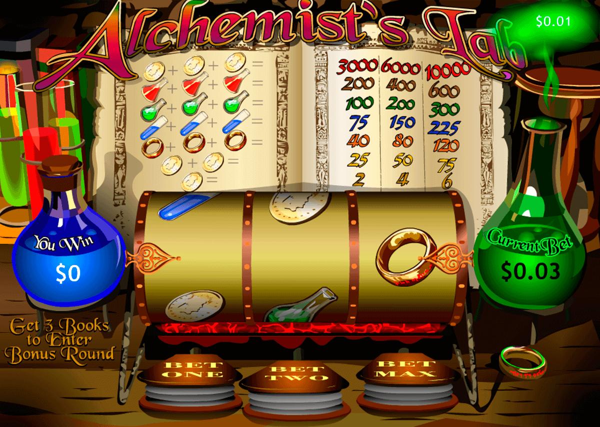alchemists lab playtech kolikkopelit