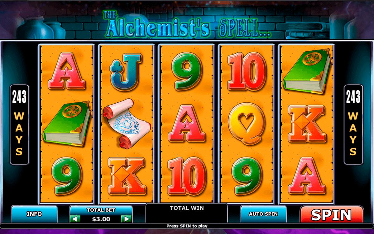 alchemists spell playtech kolikkopelit