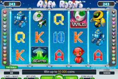 alien robots netent kolikkopelit