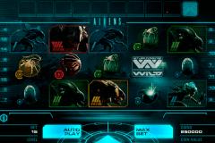aliens netent kolikkopelit