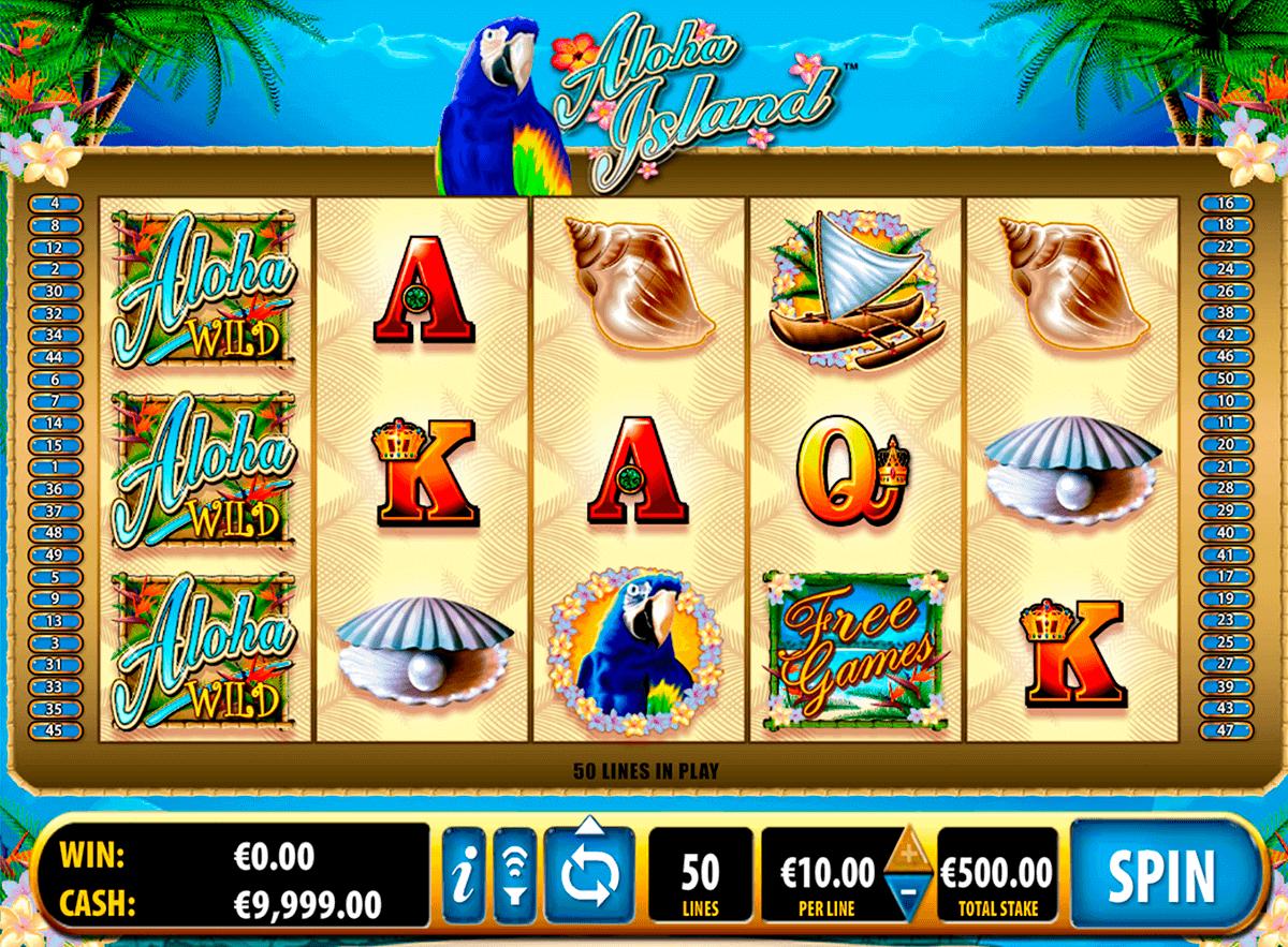aloha island bally kolikkopelit