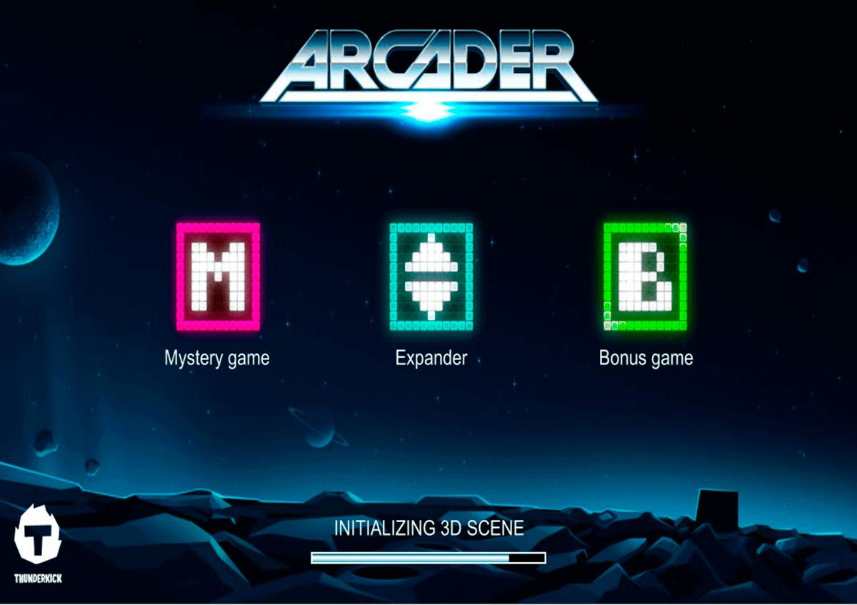 arcader thunderkick kolikkopelit
