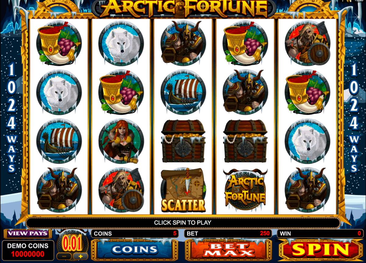 arctic fortune microgaming kolikkopelit