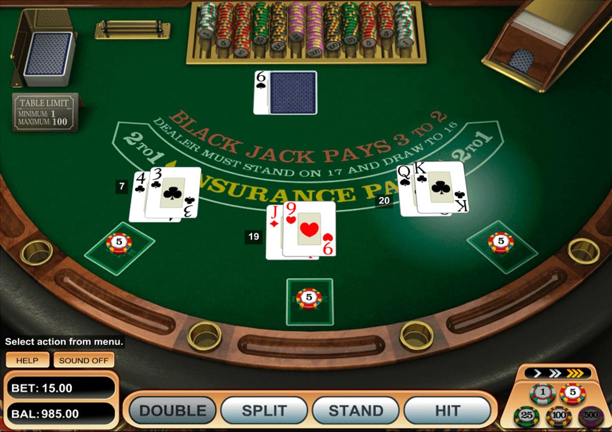 atlantic city blackjack gold microgaming blackjack