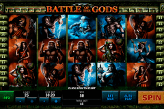 battle of the gods playtech kolikkopelit