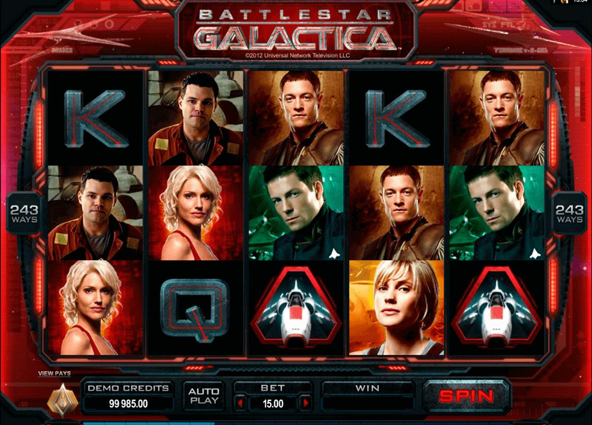 battlestar galactica microgaming kolikkopelit
