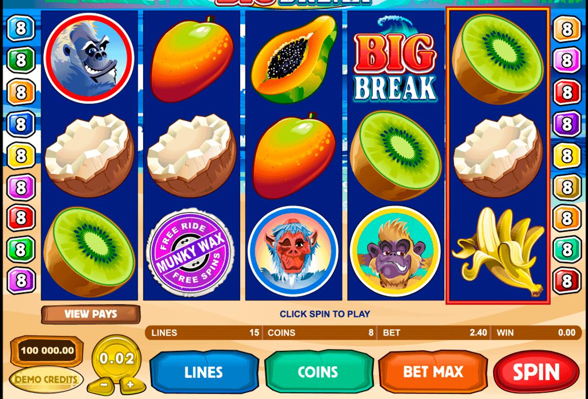 big break microgaming kolikkopelit
