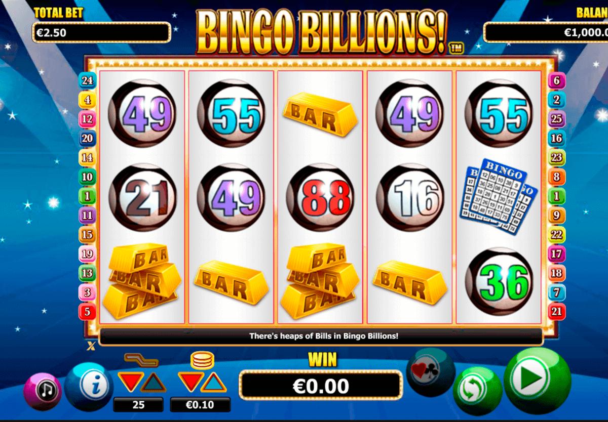 bingo billions nextgen gaming kolikkopelit