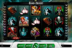 blood suckers netent kolikkopelit