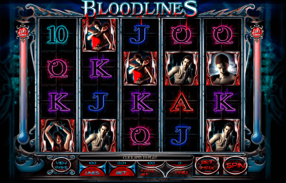 bloodlines genesis kolikkopelit