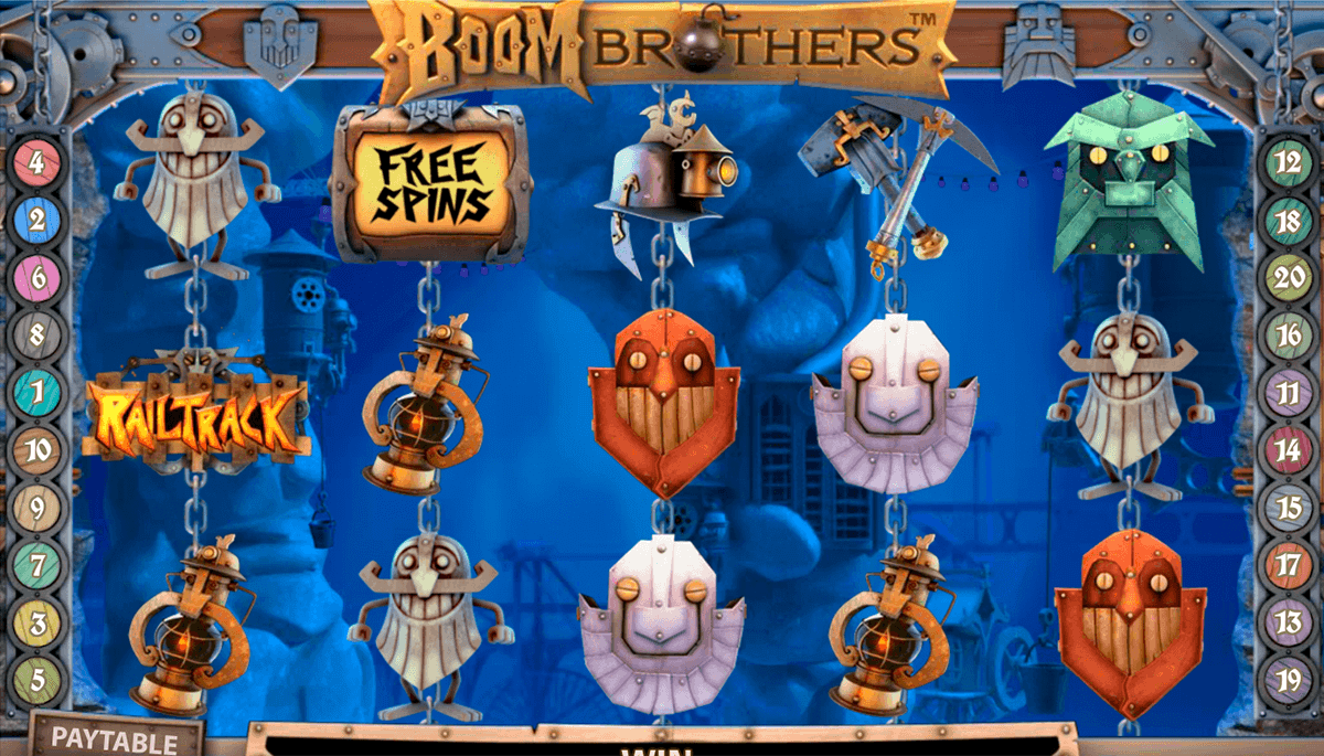 boom brothers netent kolikkopelit