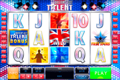 britains got talent playtech kolikkopelit