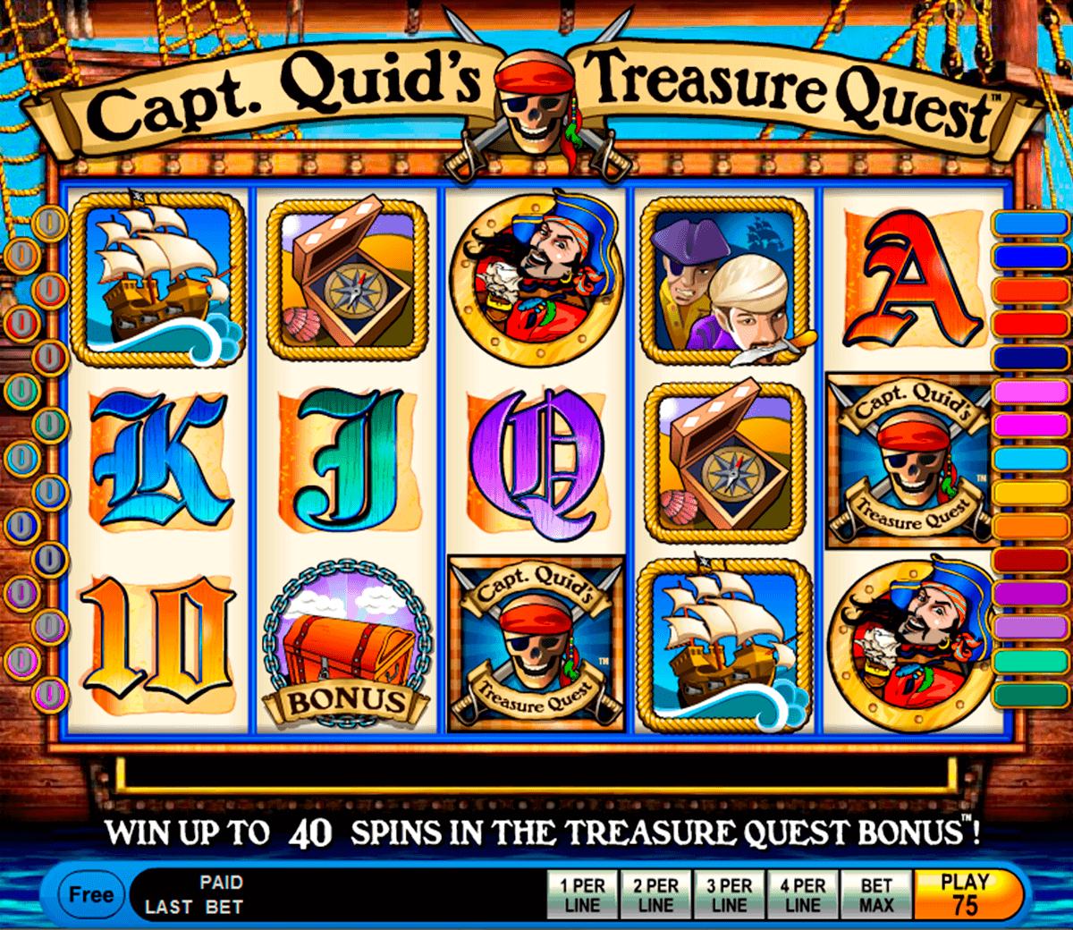 capt quids treasure quest igt kolikkopelit