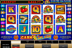 cashsplash video slot microgaming kolikkopelit