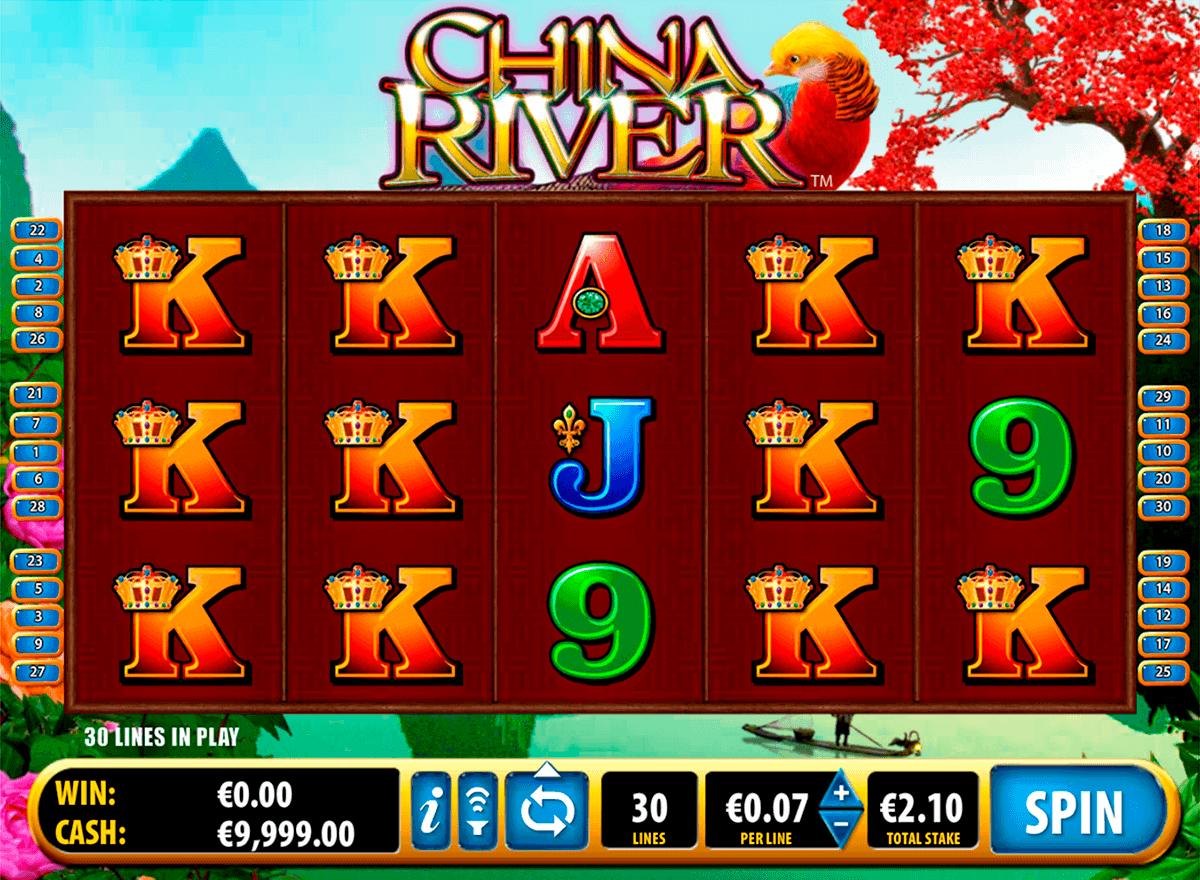 china river bally kolikkopelit