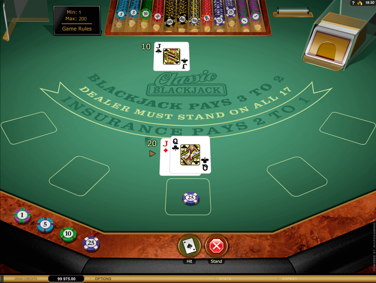 classic blackjack gold microgaming blackjack