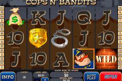 cops n bandits playtech kolikkopelit