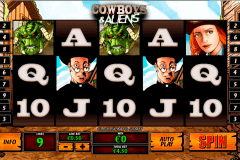 cowboys and aliens playtech kolikkopelit