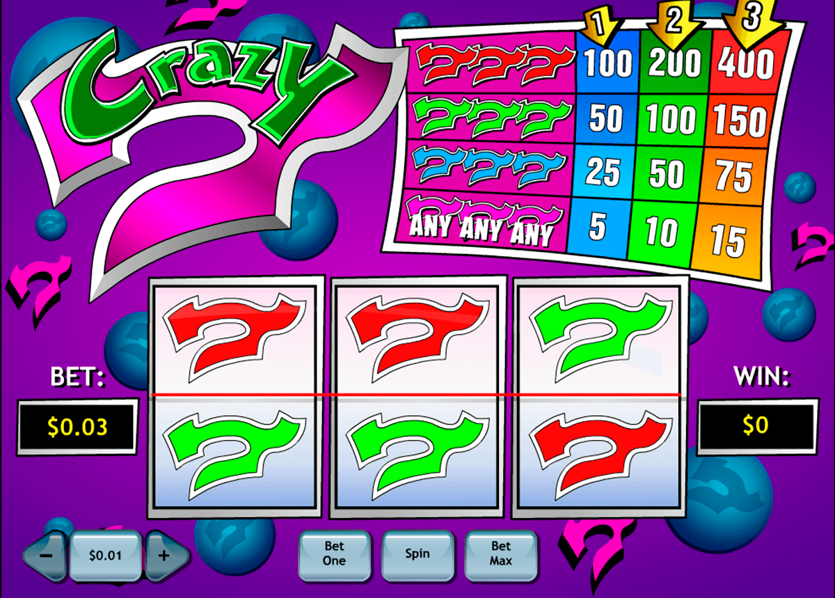 crazy  playtech kolikkopelit