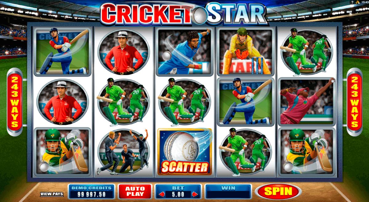 cricket star microgaming kolikkopelit