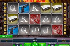 crime scene netent kolikkopelit