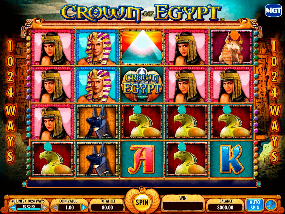 crown of egypt igt kolikkopelit