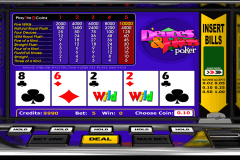 deuces jokers poker betsoft