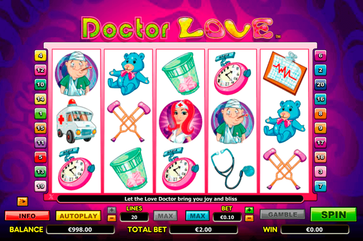 doctor love netgen gaming kolikkopelit