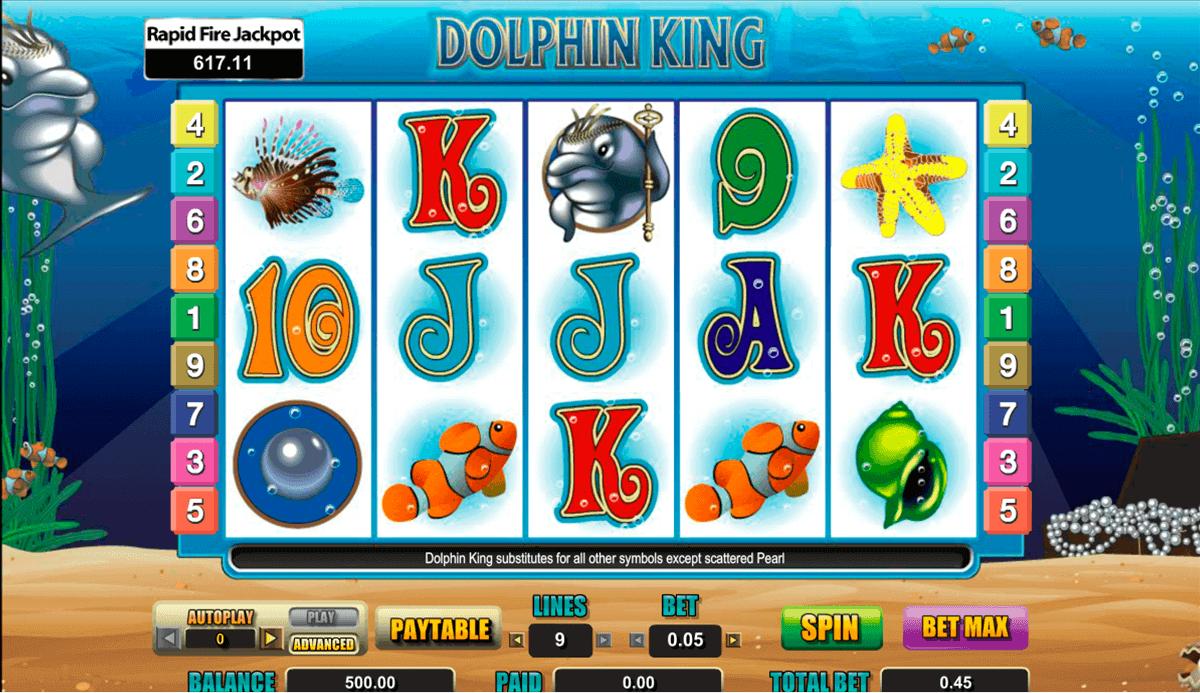 dolphin king amaya kolikkopelit