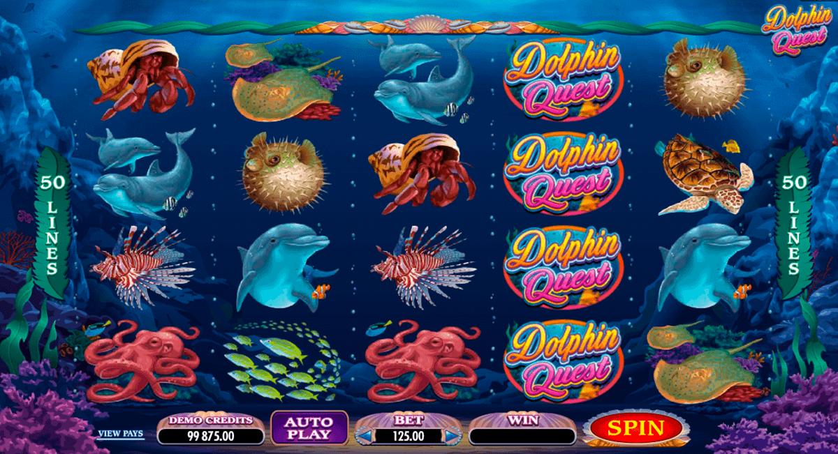 dolphin quest microgaming kolikkopelit