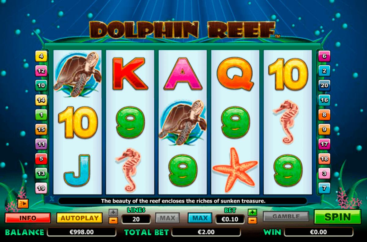 dolphin reef netgen gaming kolikkopelit