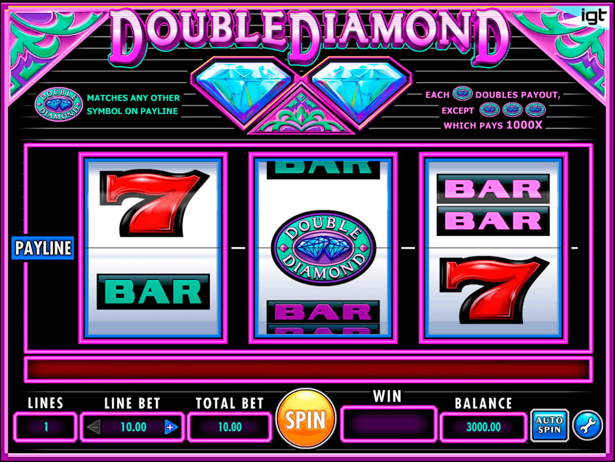 double diamond igt kolikkopelit