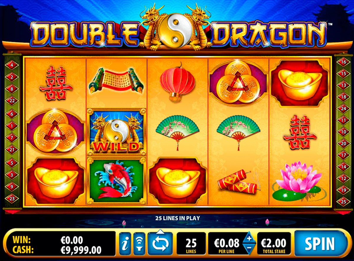 double dragon bally kolikkopelit