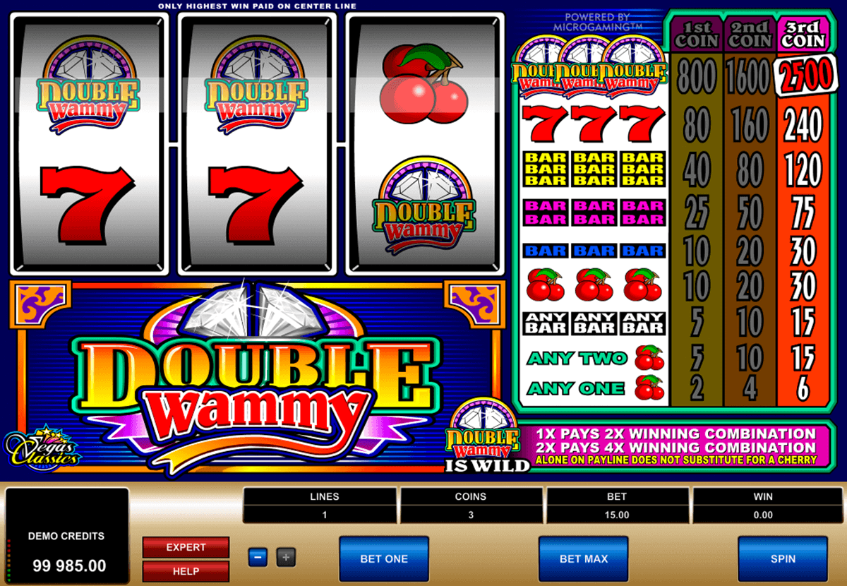 double wammy microgaming kolikkopelit
